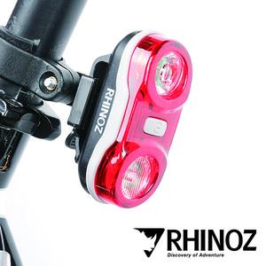 라이노즈 라이노즈 듀얼 수퍼 브라이트 LEDs 자전거 후미등