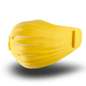 후아마스크 후아마스크 오펜가드 4중 필터 무독성 TPR 미세먼지 교체형 투명 후아마스크 옐로우