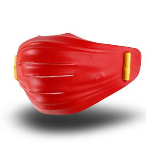 후아마스크 후아마스크 오펜가드 4중 필터 무독성 TPR 미세먼지 교체형 투명 후아마스크 레드