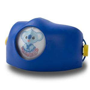 후아마스크 후아마스크 코코코 다코 어린이 미세먼지 교체형 마스크 4중 필터 무독성 TPR 블루