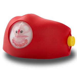 후아마스크 후아마스크 코코코 다코 어린이 미세먼지 교체형 마스크 4중 필터 무독성 TPR 레드